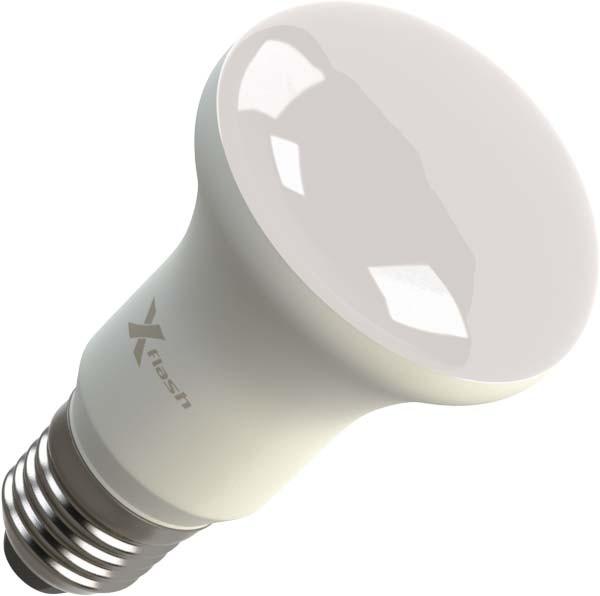 X-Flash Светодиодная лампа XF-E27-R63-P-8W-4000K-220V X-flash лампа светодиодная x flash xf e27 r90 p 12w 3000k 220v 10шт