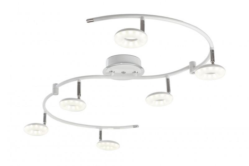 IDLamp 390/6PF-LEDWhitechrome idlamp светодиодный спот idlamp bianca 390 6pf ledwhitechrome