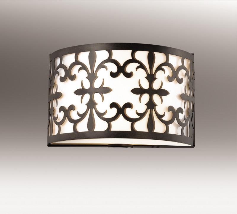 Odeon Light 2896/2W ODL16 111 коричневый/металл/пластик Бра E14 2*40W 220V PAROLA настенный светильник odeon parola 2896 2w