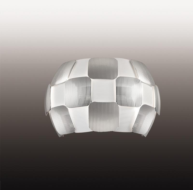 Odeon Light 2860/1W ODL16 123 белый/хром/пластик Бра E14 13W 220V RALIS