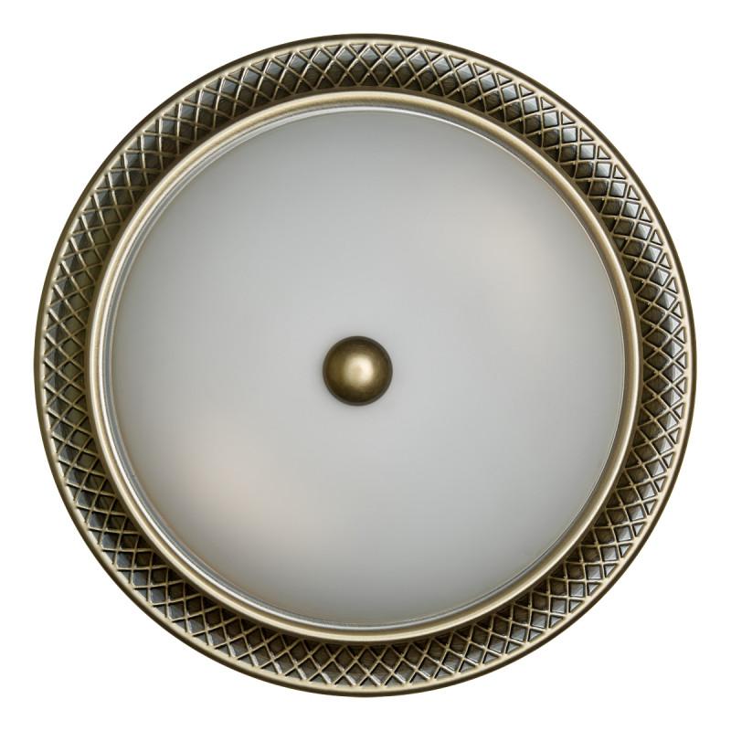 Sonex 4304 SN16 017 бронза/белый Н/п светильник E27 3*60W 220V PRAIM 4304