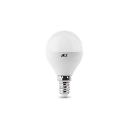 Gauss Лампа Gauss LED Elementary Globe 6W E14 4100K 1/10/50 gauss elementary globe e27 6w 230v холодный свет