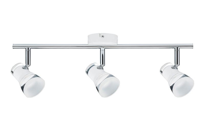 Paulmann Spotlight Clear 3x5W Ws m/Chr 230V Mt Ac paulmann fenno tischl max1x20w grau 230v beton