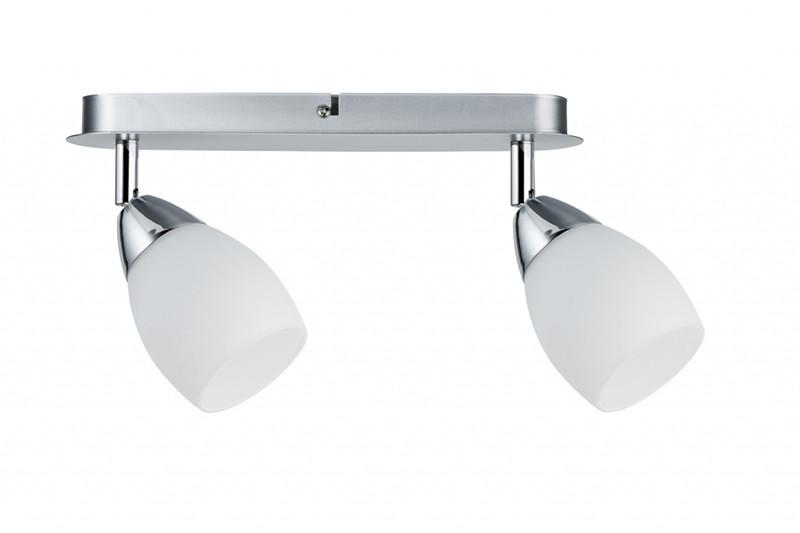 Paulmann Spotlight WolbalLED max2x10W GU10 Chrom paulmann 70063 лампа накаливания rustuka retro 60 w e27 прозрачн paulmann