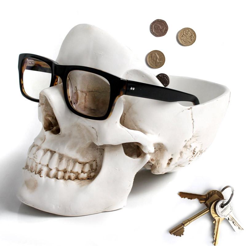 Suck UK Органайзер для мелочей skull белый suck uk