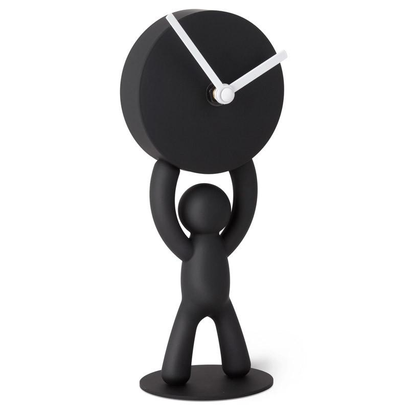 Umbra Часы buddy настольные черные