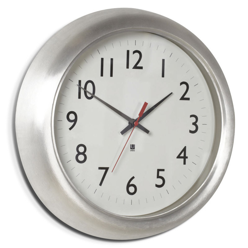 Umbra Часы настенные station часы goldsmied station d28 см