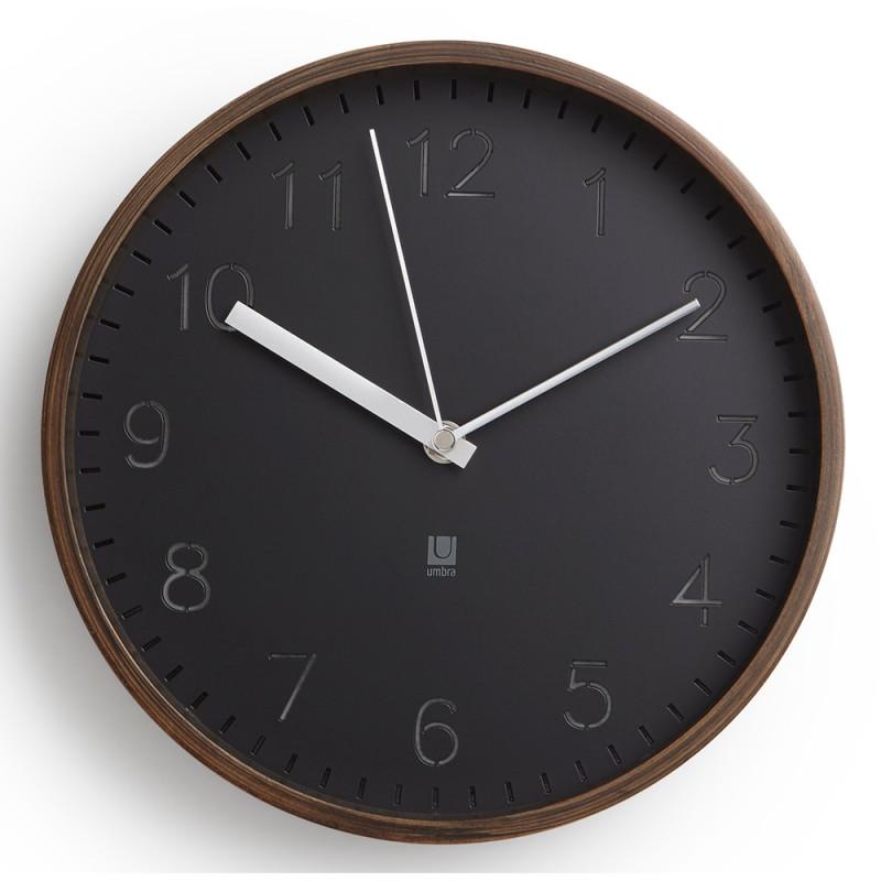 Umbra Часы настенные rimwood орех