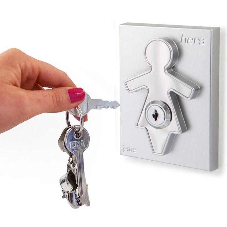 J-me Холдер для ключей с брелоком hers обложки lola холдер для проездного 2 шт