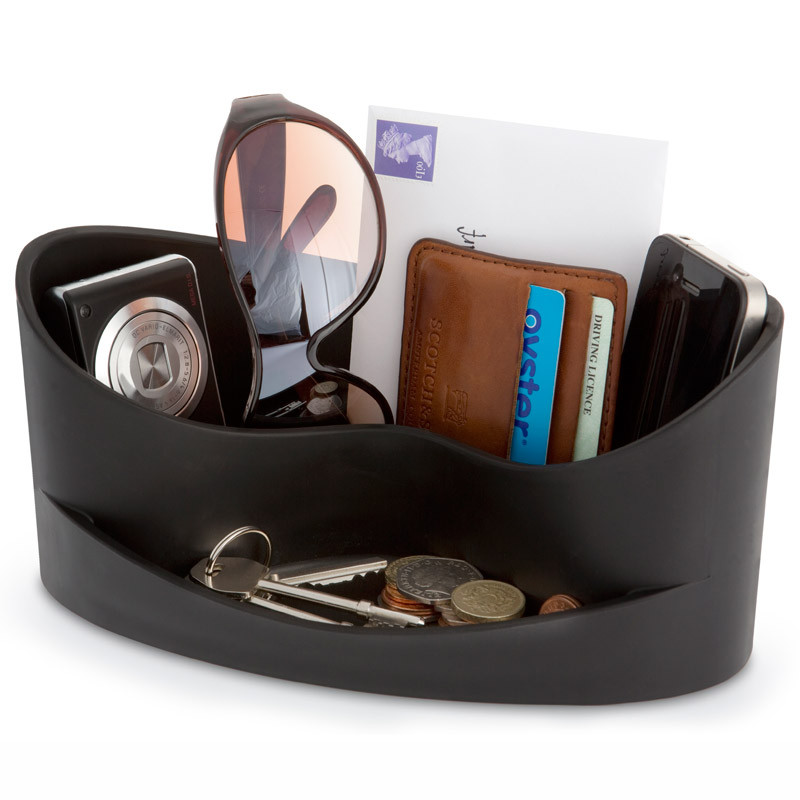 J-me Стильный органайзер для мелочей casa черный faux leather braid layered bracelet