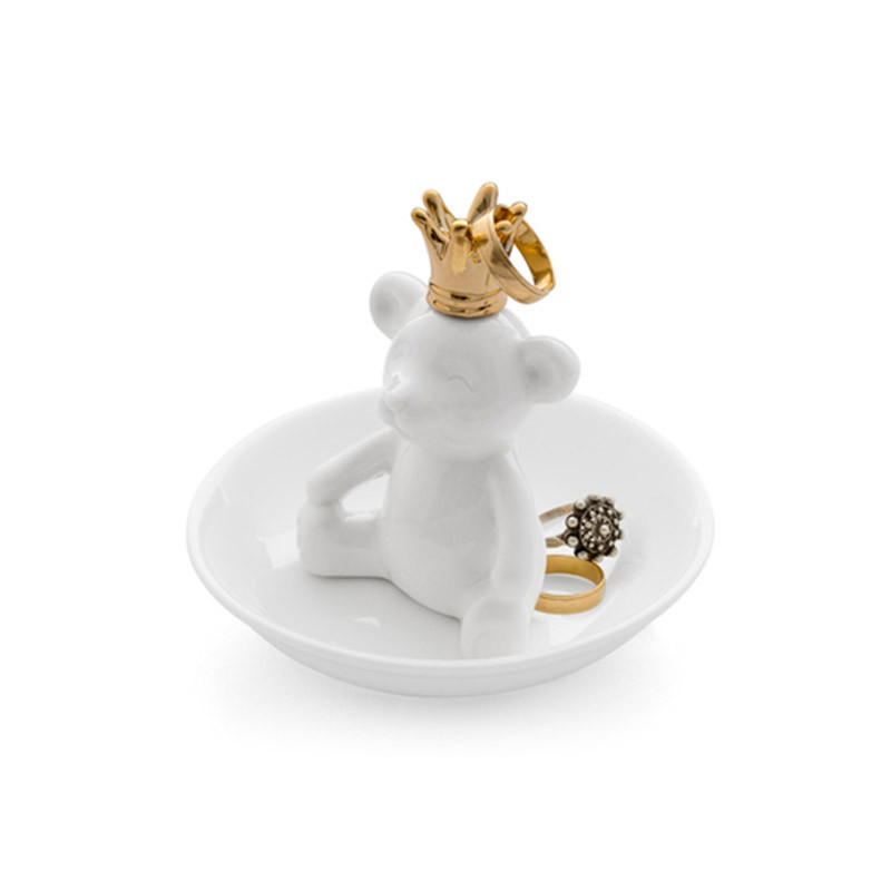 Balvi Подставка для колец the king белая smoby детская горка king size цвет красный