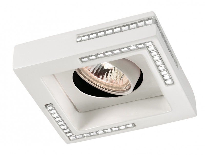 Novotech 369843 NT14 220 белый Встраиваемый светильник IP20 GU5.3 50W 12V FABLE встраиваемый точечный светильник novotech fable арт 369843
