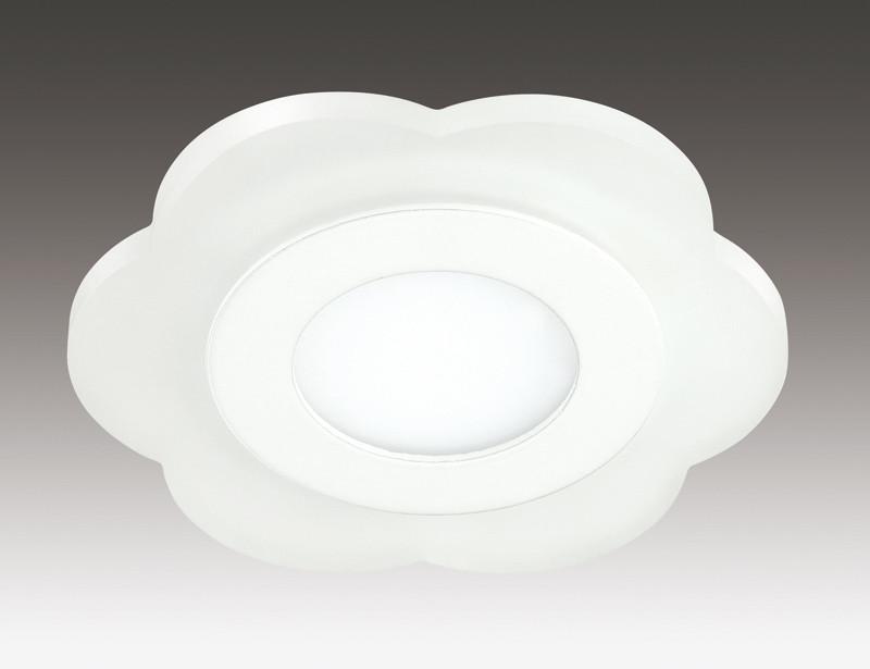 Novotech 357317 NT16 335 белый Встраиваемый светильник IP20 30 LED SMD2835 6W 220V LAGO novotech встраиваемый светильник novotech lago 357317