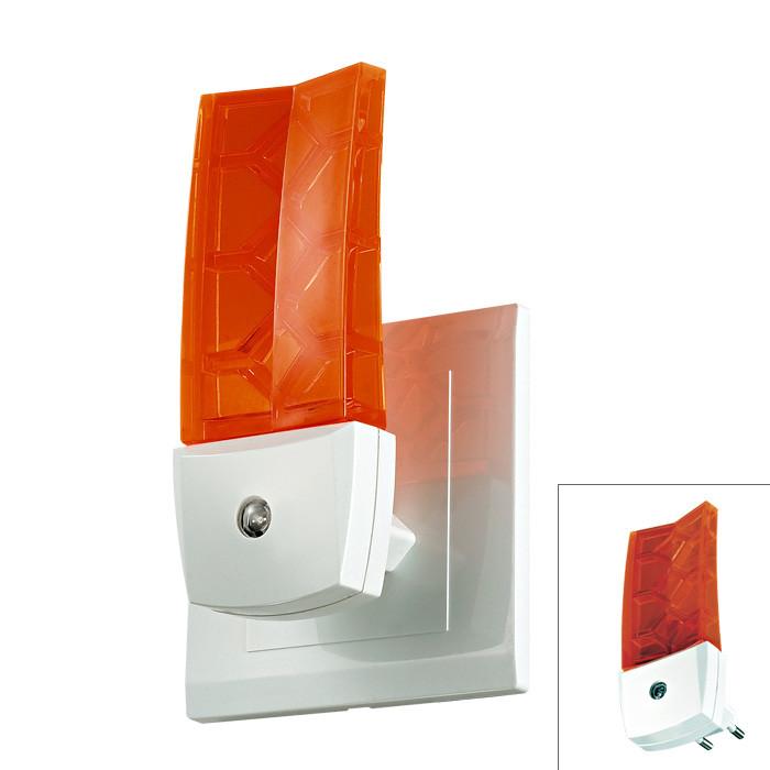 Novotech 357331 NT16 105 белый/оранж Светильник-ночник (в розетку) с датчиком IP20 1LEDx0.5W 220V NIGHT LIGHT yeelight ночник светодиодный заряжаемый с датчиком движения