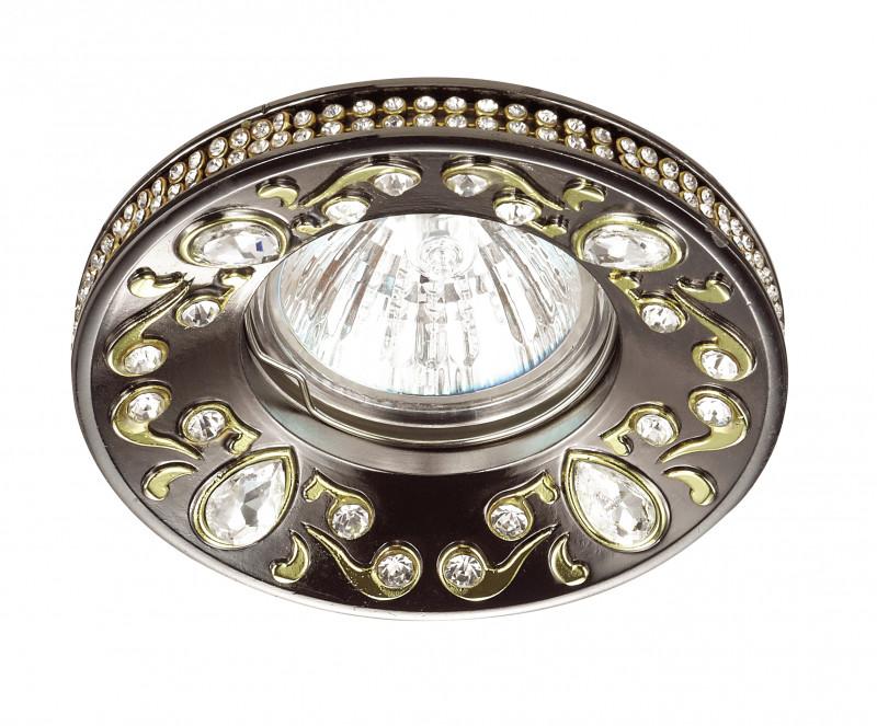 Novotech 370236 NT16 138 темная бронза Встраиваемый декоративный светильник IP20 GU5.3 50W 12V ERBA