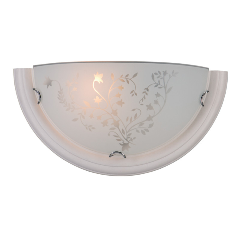 Sonex 001 SN15 114 бел.дер.хром/белый/декор Бра E27 100W 220V BLANKETA