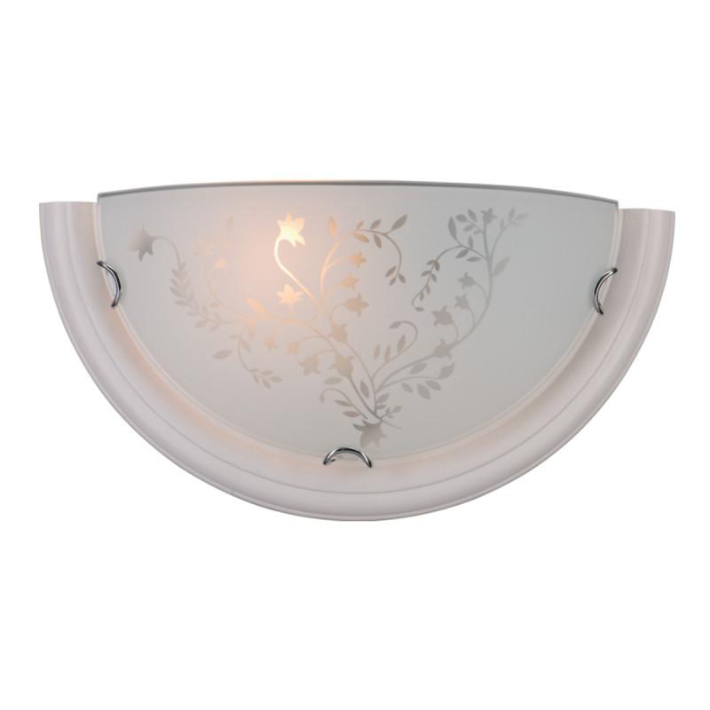 Sonex 001 SN15 114 бел.дер.хром/белый/декор Бра E27 100W 220V BLANKETA бра sonex 004
