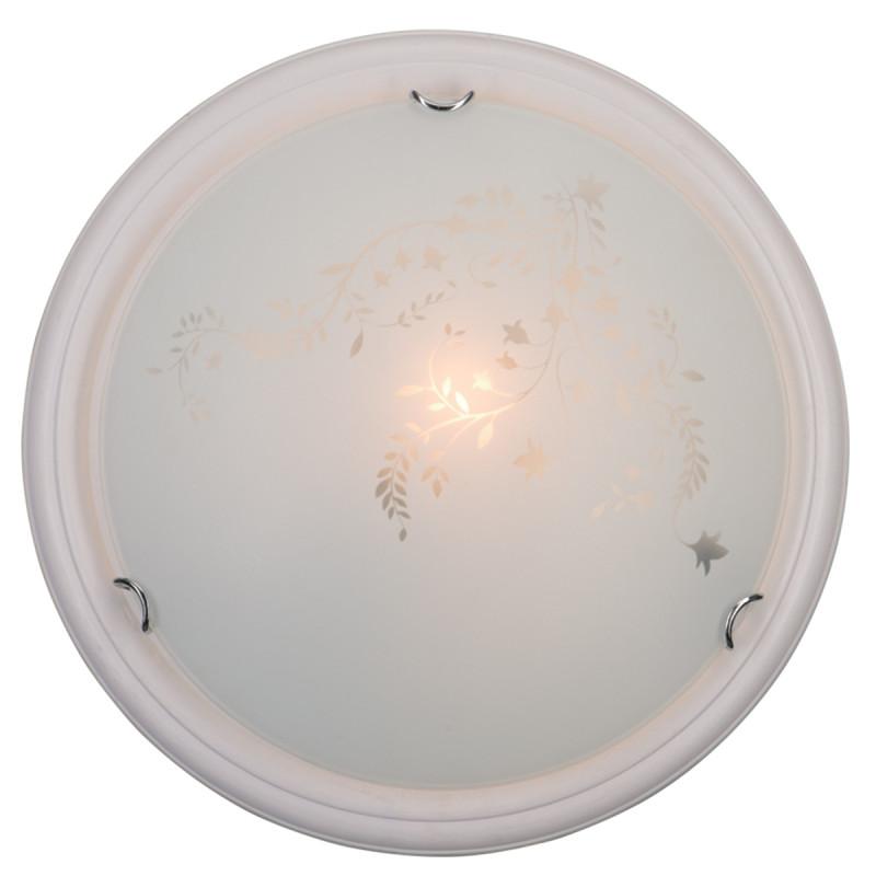 Sonex 201 SN15 114 бел.дер.хром/белый/декор Н/п светильник E27 2*100W 220V BLANKETA sonex blanketa gold 202