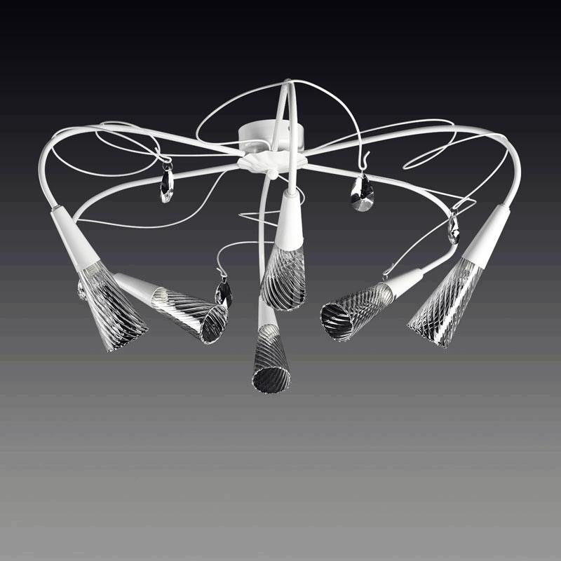 Lightstar 711060 (SX1105/6)  Люстра AEREO 6х25W G9 WHITE, шт lightstar 804020 mc8114 6 люстра lobo 6х40w g9 стекло матовое шт