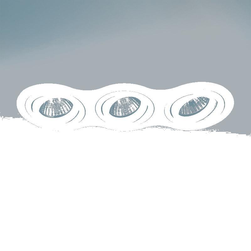 Lightstar 214236 Светильник INTERO 16 HP16х3 БЕЛЫЙ, шт