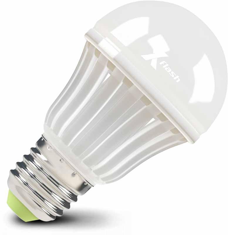 X-Flash Светодиодная лампа XF-E27-BC-P-7W-3000К-220V X-flash лампа светодиодная x flash xf e27 r90 p 12w 3000k 220v 10шт
