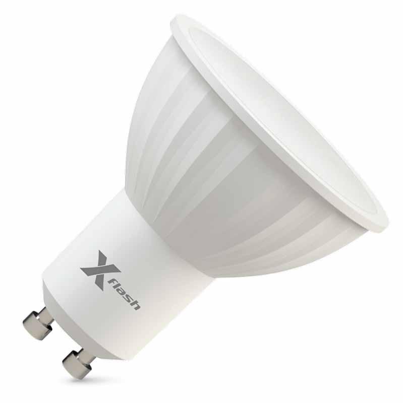 X-Flash Светодиодная лампа XF-MR16-P-GU10-4W-3000K-220V X-flash x flash светодиодная лампа xf e14 mw ag 4w 3000k 220v x flash