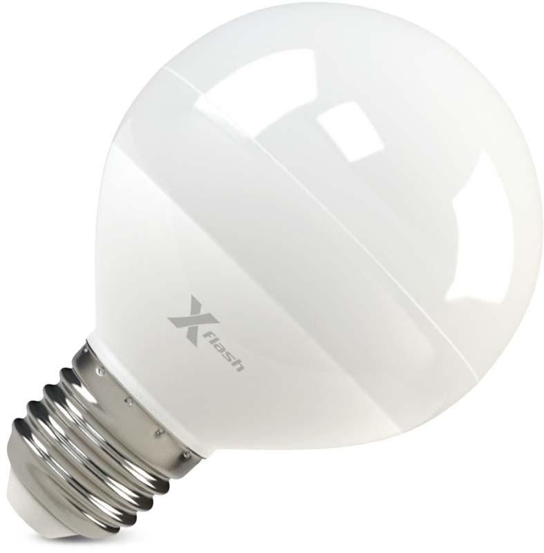 X-Flash Светодиодная лампа XF-E27-G70-P-8W-4000K-220V X-flash лампа светодиодная x flash xf e27 r90 p 12w 3000k 220v 10шт