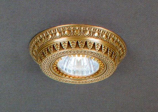 Reccagni Angelo SPOT 1097 Oro встраиваемый точечный светильник спот spot 1082 oro золото reccagni angelo рекани анжело