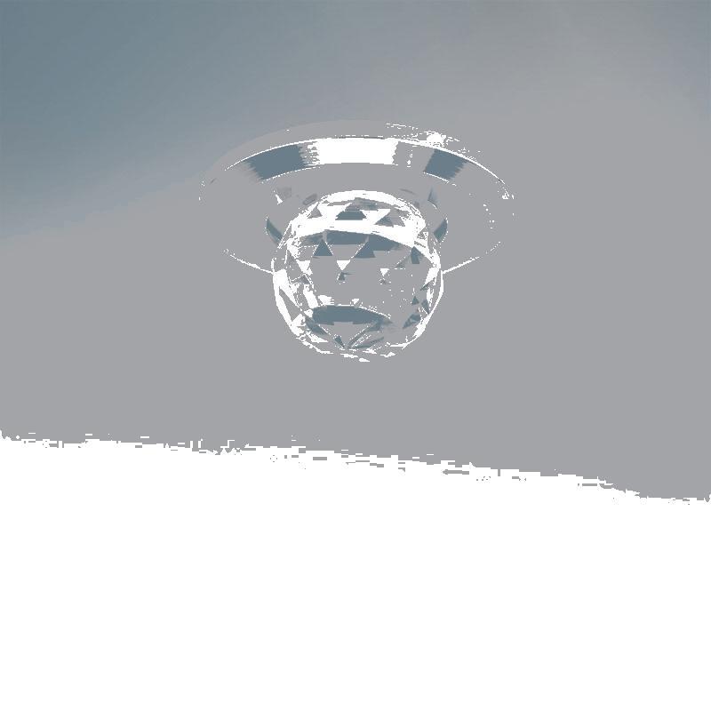 Lightstar 070112 Светильник ASTRA BOL LED 1W 82LM ХРОМ/ПРОЗРАЧНЫЙ 3000К, шт lightstar светильник astra tubo led 1w 90lm хром прозрачный 3000k в комплекте шт