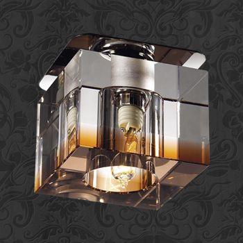 Novotech 369297 NT09 215 янтарный хрусталь Встраиваемый светильник G9 40W 220V AQUARELLE полотенца банные aquarelle полотенце aquarelle размер 70 140см серия таллин цвет ваниль