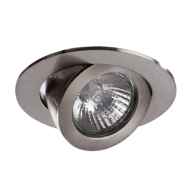 ARTE Lamp A4009PL-1SS встраиваемый спот точечный светильник arte lamp accento a3219pl 1ss