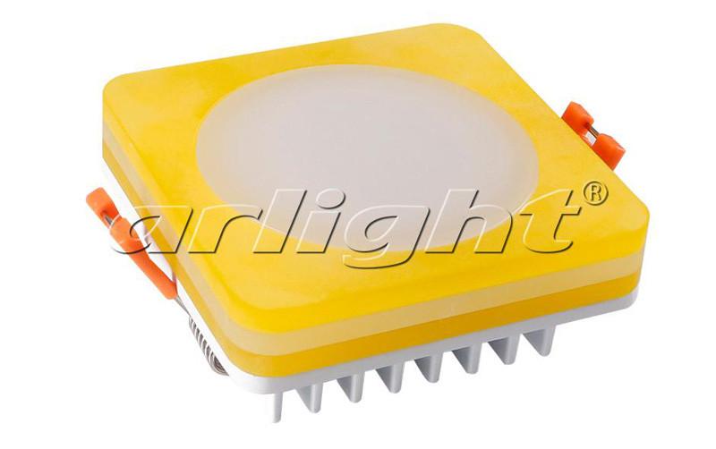 Arlight Светодиодная панель LTD-80x80SOL-Y-5W Day White светодиодная лампа arlight 014137