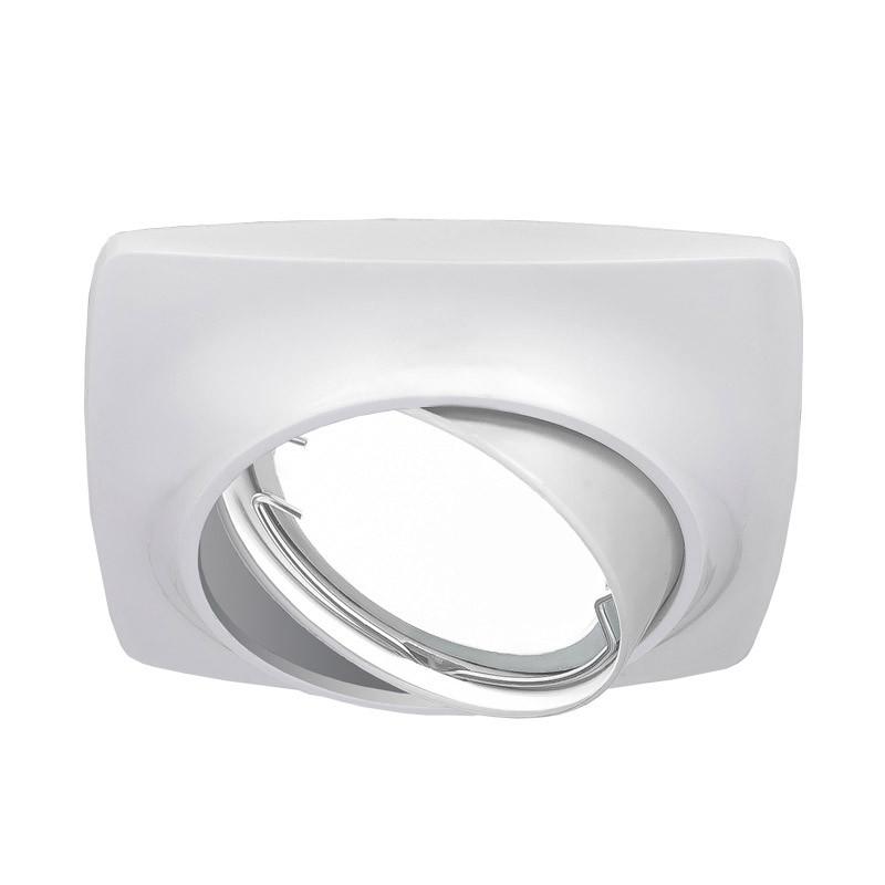 Gauss Светильник Gauss Metal Exclusive CA069 Круг. Белый перламутр, Gu5.3 1/100 gauss светильник gauss metal exclusive ca063 круг золото gu5 3 1 100