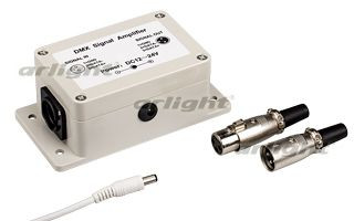 Arlight Усилитель сигнала LN-DMX-1CH (12V) martin dmx interface 128 ch rs485