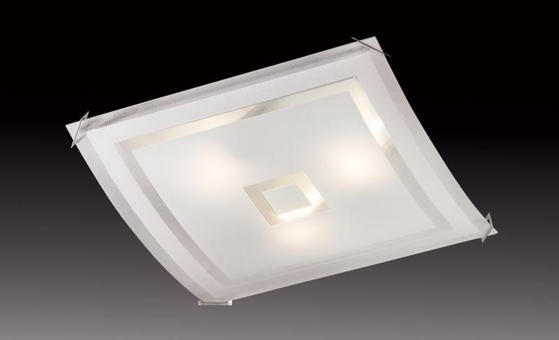 Sonex 4120 FBK06 091 белый/хром Потолочный светильник E27 4*60W 220V CUBE sonex 4120 fbk06 091 белый хром потолочный светильник e27 4 60w 220v cube