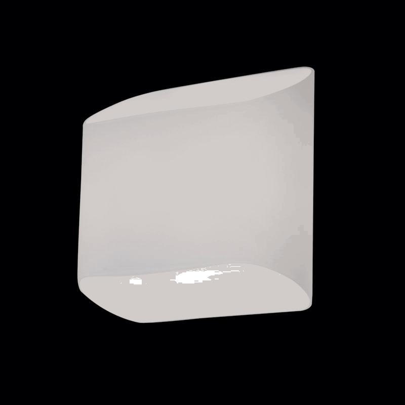 Lightstar 808620 (MB329-2W) Светильник настенный MURO 2х40W G9 ХРОМ/БЕЛЫЙ, шт lightstar люстра lightstar torcia 10х40w g9 белый ls 780100