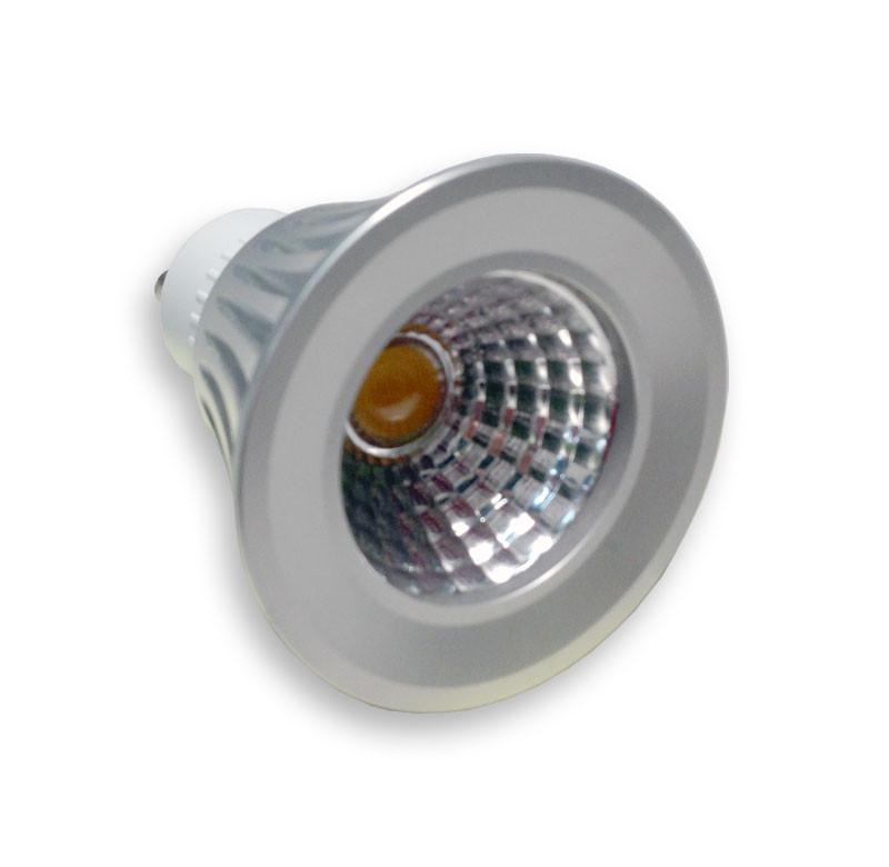Eco LED Лампа ECO Led COB 6000К 220V GU10 5W бусы eco синие бусы eco синие