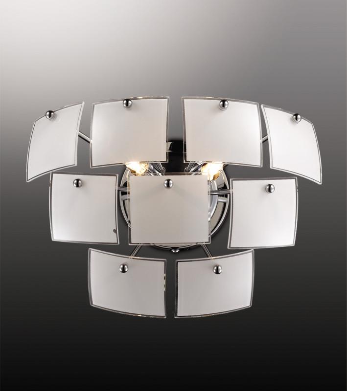 Odeon Light 2655/2W ODL14 371 хром/белый Бра G9 2*40W 220V Vorm