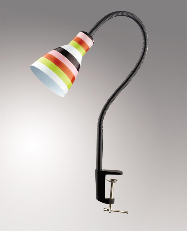 Odeon Light 2596/1T ODL14 907 белый/&полоска& Н/лампа с выкл  E27 60W 220V Pika