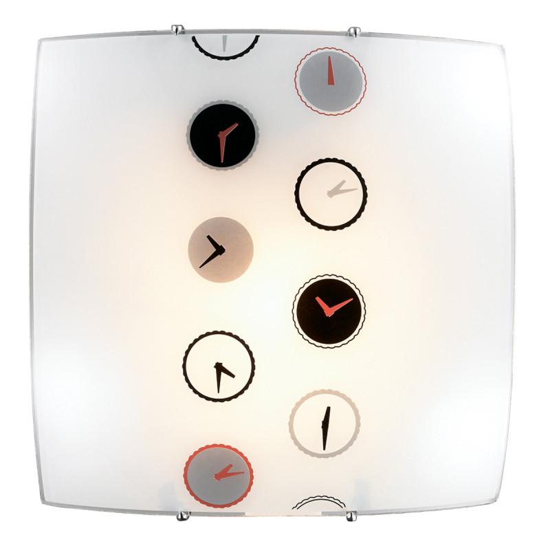 Sonex 1236 SN14 086 никель/белый/черн/красн/сер Потолочн E27 60W 220V TIME
