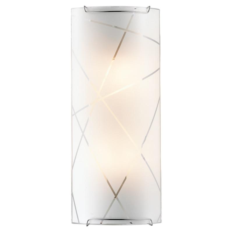 Sonex 2244 SN14 089 хром/белый Бра E14 2*60W 220V VASTO sonex 3144 sn14 073 vasto chrome white