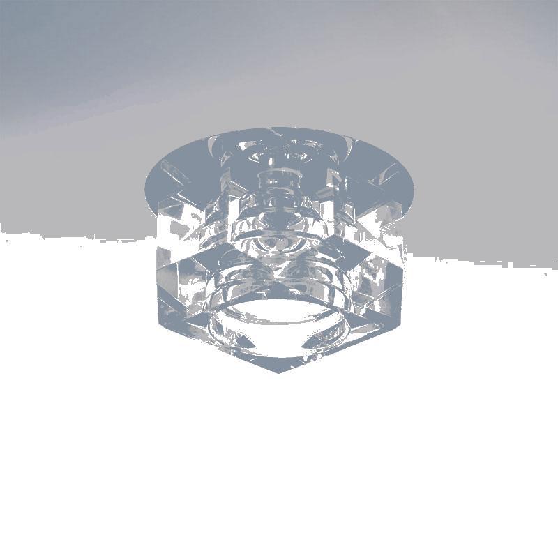 Lightstar 004061 Светильник ROMB MC G4 ХРОМ/МУЛЬТИКОЛОР, шт цоколь лампы led g4 10pcs lot g4 g4 lampcrystal 163