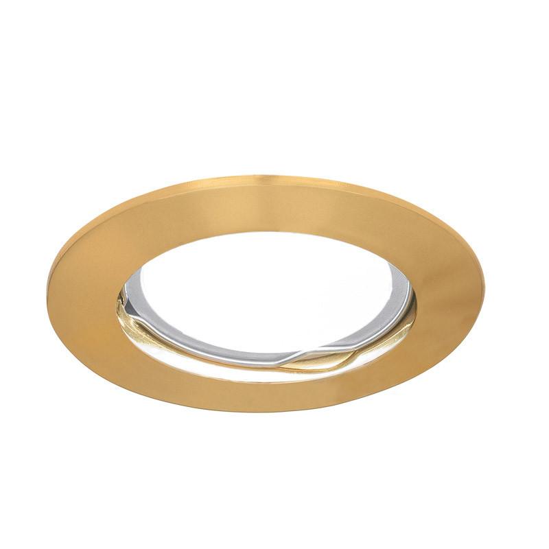 Gauss Светильник Gauss Metal CA002 Круг. Золото, Gu5.3 1/100 gauss светильник gauss metal exclusive ca063 круг золото gu5 3 1 100
