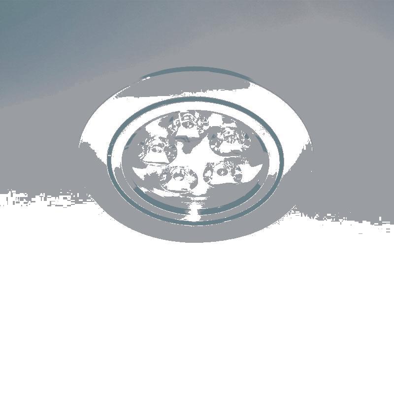 Фото Lightstar 070054 Светильник ACUTO LED 5W 450LM ХРОМ 4200К, шт. Купить с доставкой