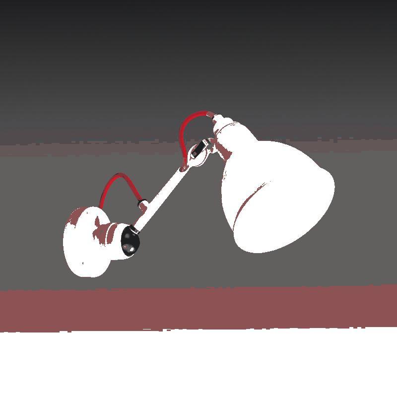 Lightstar 765606 (MВ1201802-1J) Бра LOFT 1х40W E14 БЕЛЫЙ, шт светильник настенный бра коллекция loft 765616 белый белый lightstar лайтстар
