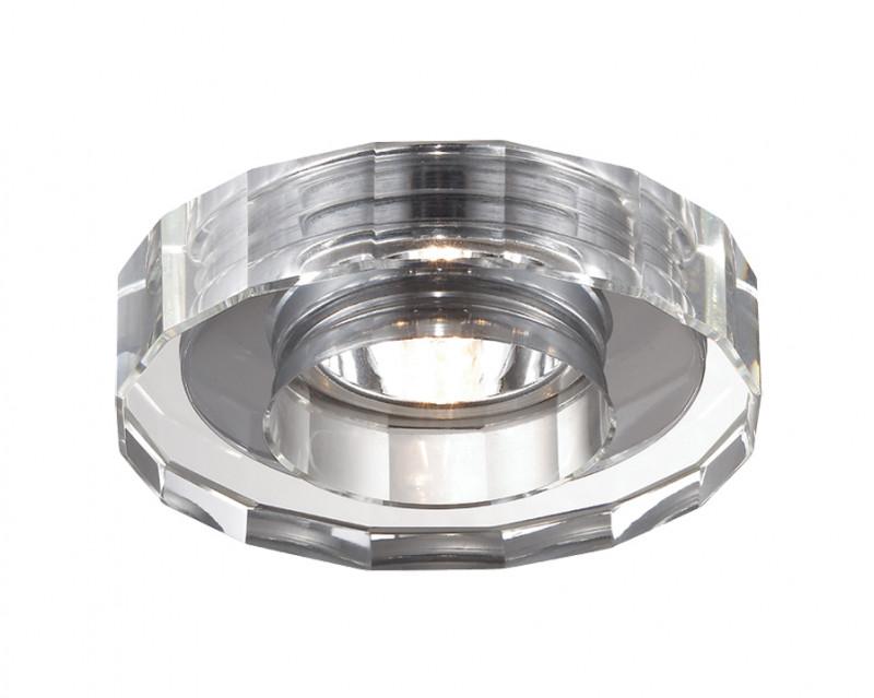 Novotech 369412 NT10 209 хром Встраиваемый НП светильник IP20 G9 40W 220V COSMO novotech cosmo 369412