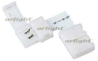 Arlight Соединитель угловой FIX-MONO8-L arlight коннектор выводной fix mono10 1s 15cm