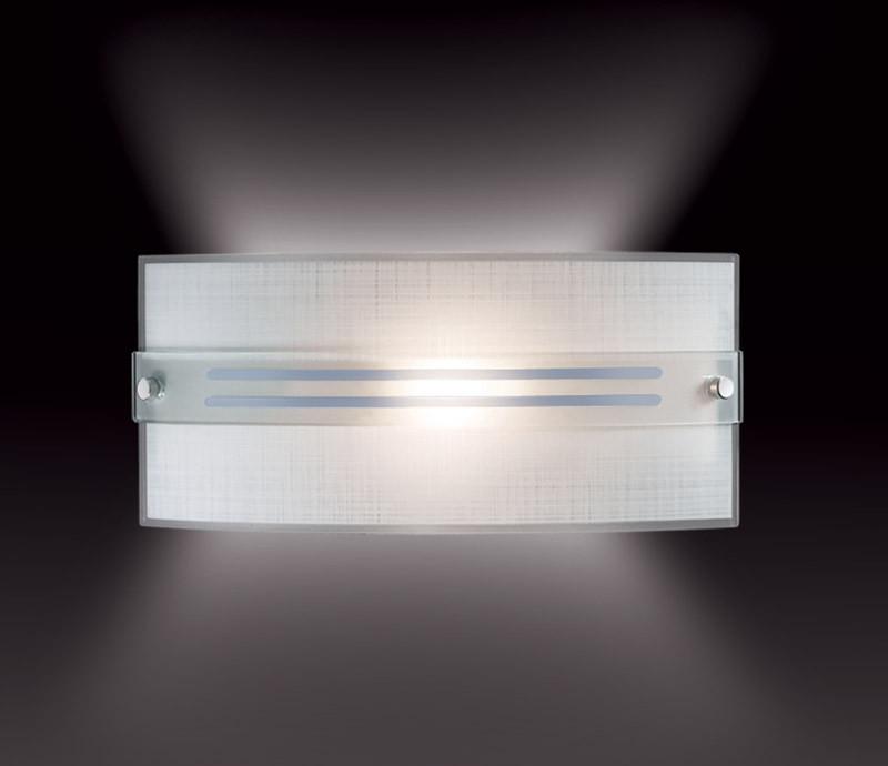 Sonex 1223 FBK06 101 белый/хром Бра E14 60W 220V DECO