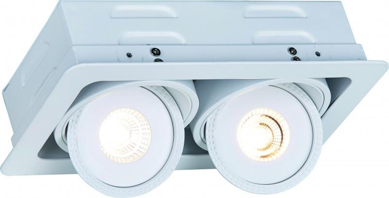 ARTE Lamp A3007PL-2WH встраиваемый светильник arte lamp studio a3007pl 2wh