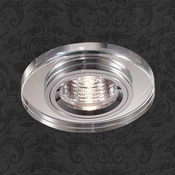 Фото Novotech 369436 NT10 234 хром/зеркальный Встраиваемый НП светильник IP20 GU5.3 50W 12V MIRROR. Купить с доставкой